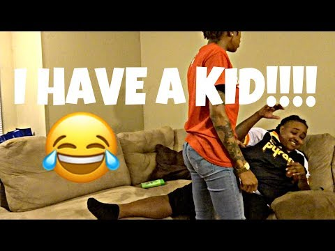 I HAVE A KID YOU DONT KNOW ABOUT PRANK!!!! (SHE CRIES)!!!!