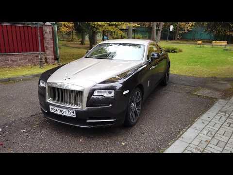 Роскошное спорткупе от Rolls Royce - Wraith