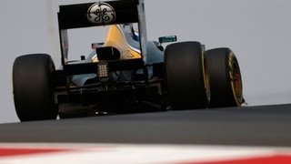 How F1 Suspension Works: Caterham F1 Technical