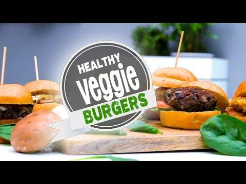 3 Healthy Veggie Burgers (Vegan Recipes) | Joanna Soh
