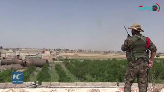 US-backed forces push deeper into IS capital Raqqa in northern Syria