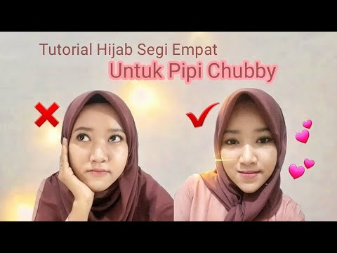 Tutorial Hijab Pesta Untuk Pipi Tembem Bisabo Channel