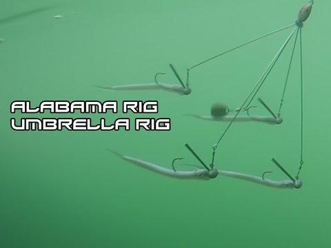 how to make an umbrella rig