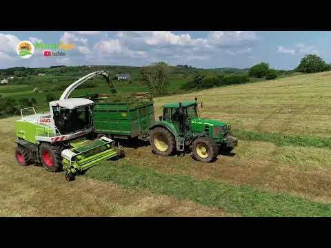 Kicking off Silage 2018 - Holmes Agri in HD