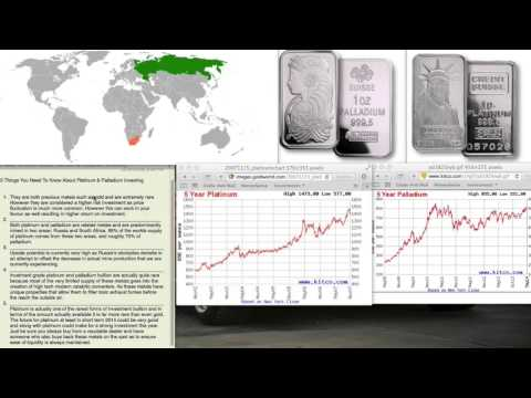 Platinum & Palladium - 5 things you need to know -Best time