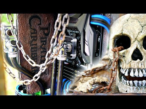 Pirates of The Caribbean - Ultimate Custom Gaming Time Lapse PC Build