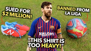 Testing EVERY Product that Footballers have Complained about - are they really that bad?