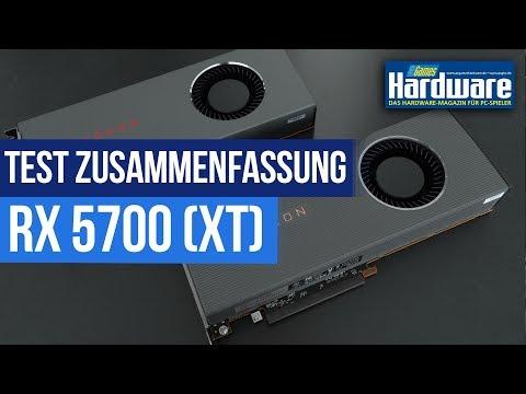 AMD Radeon RX 5700 (XT) | Test Zusammenfassung | Navi Fazit