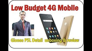 low budget 4g mobile Gionee P5L Detail unboxing amp review in Hindi
