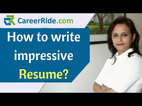 How to write an impressive Resume? – Resume Format for Freshers and Experienced Candidates!