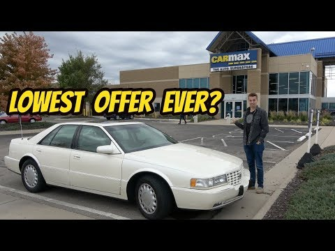 My Mint Cadillac STS Is Less than WORTHLESS: Carmax Offered THIS?