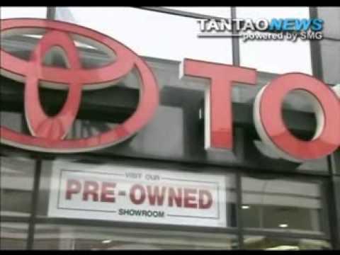 Toyota Recalls Calls For Braking Issue