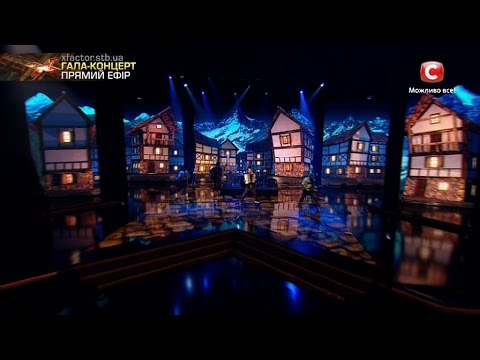 Группа Detach. Dancing Lasha Tumbai Гала-концерт Х-фактор-7 24.12.2016