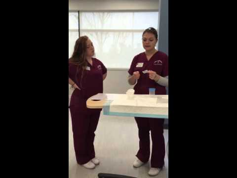 Midstream urine sample: MSU Nursing