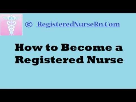 How To Become Registered Nurse Rn