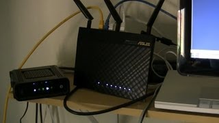 Asus RT-AC66U Setup on Day 2 of Home Network Makeover