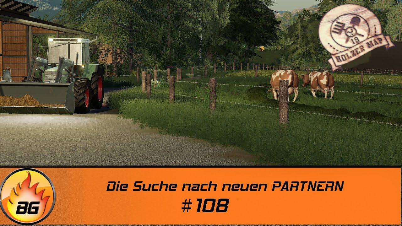 LS19 - Holzer Challenge #108 | Die Suche nach neuen PARTNERN | FS19 | Let's Play [HD]
