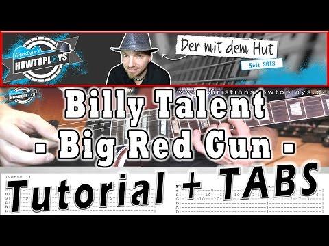 Billy Talent BIG RED GUN Gitarren Tutorial