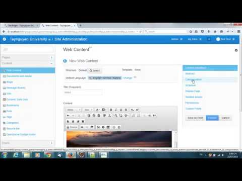 Free Liferay Theme Andia Theme Add Slide Article Youtube