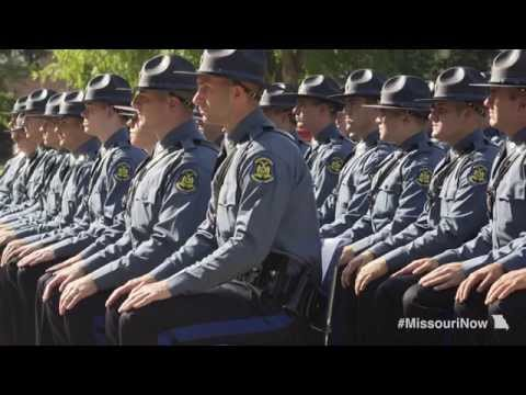 Missouri State Highway Patrol graduation ceremony