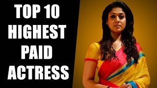 Shocking ! Top 10 Highest Paid Tamil Actress - Kollywood Money Makers