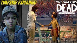 """The Walking Dead:Season 4: """"The Final Season"""" Timeskip Explained  - twd s4 Garcia"""