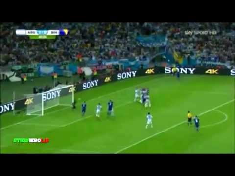 Argentina   Bosnia 2 1 ►  Sintesis Sky Sport Mondial 2014 HD