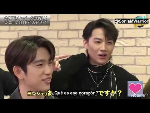 [Sub Español] GOT7 Abema TV - Investigación de Jinyoung y Yugyeom Ep 2