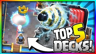 Top 5 Best Sparky Decks For Trophy Pushing!! Arena 8 To Arena 11 - Clash Royale
