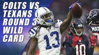 Colts vs. Texans: NFL Wild Card Weekend