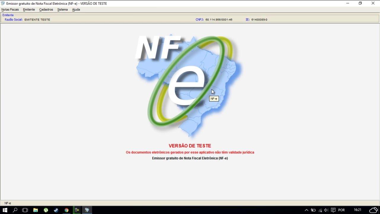 NFE DOWNLOAD MG EMISSOR GRATUITO 2.0