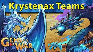 Gems of War: Krystenax Dragon Teams