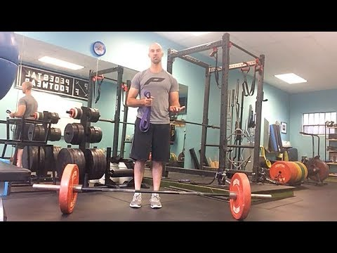 Deadlift Tip: How to Add Bands For Accommodating Resistance