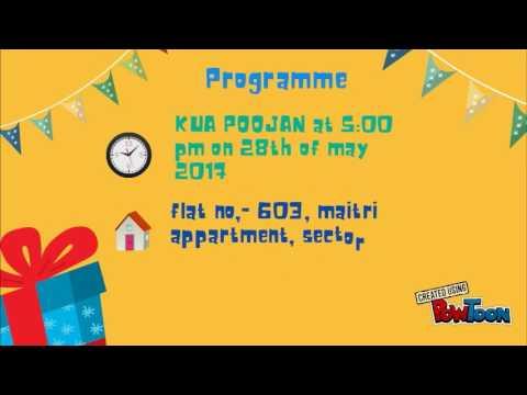 Powtoon Kua Poojan Invitation Final