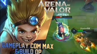 MAX GAMEPLAY + BUILD - ARENA OF VALOR