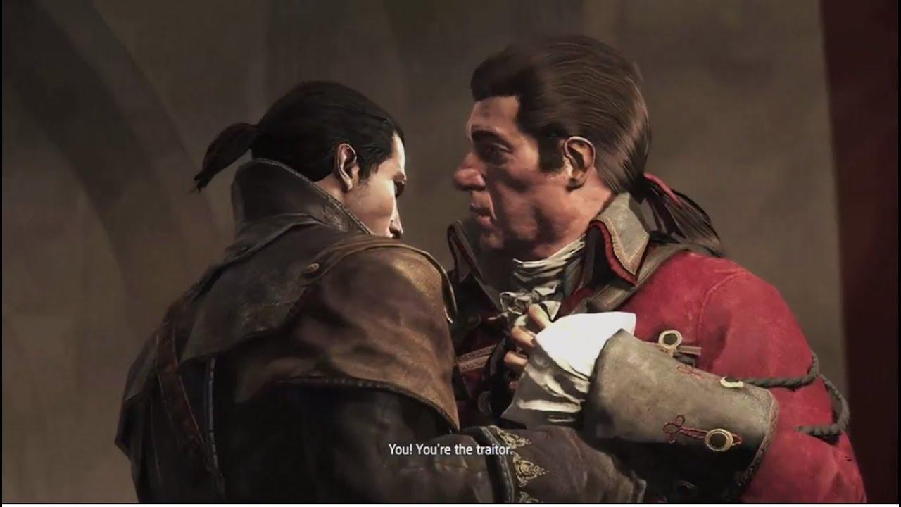 Shay kills Arno's Father Charles Dorian - YouTube