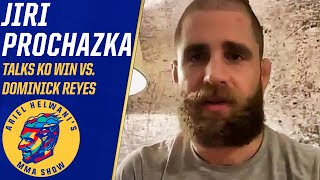 Jiri Prochazka is unhappy with performance vs. Reyes despite KO win | Ariel Helwani's MMA Show