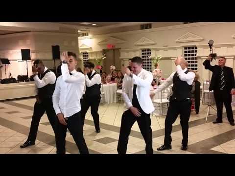 Wedding boricua dance