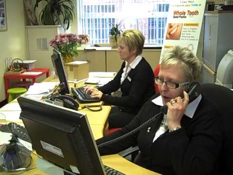 nice dental receptionists in leighton buzzard