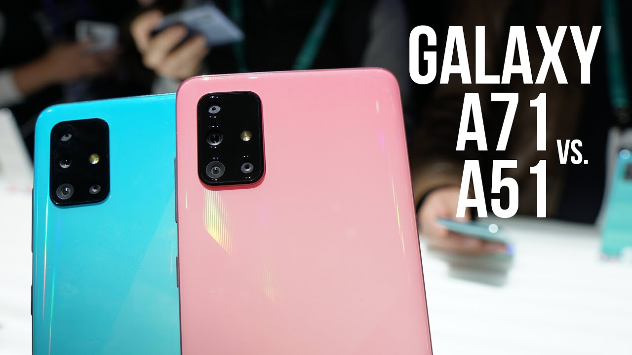 Samsung Galaxy A71 vs Galaxy A51 Comparison - Major Specs, Display, Camera Differences