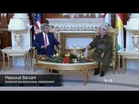 Secretary of State John Kerry IN IRAQ
