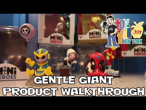 Gentle Giant Product Walkthrough at New York Toy Fair 2018