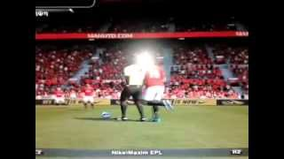 PES 2013 bloopers - Referee don