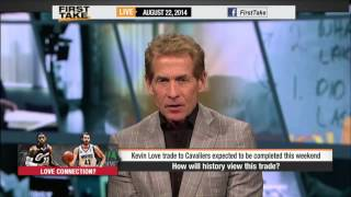 First Take - How Will History View Love-Wiggins Trade?