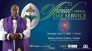Mississippi Southern First Ecclesiastical Jurisdiction - 2020 Holy Convocation