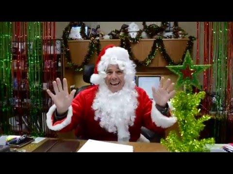 T. Baker Smith 2015 Christmas Lip Sync