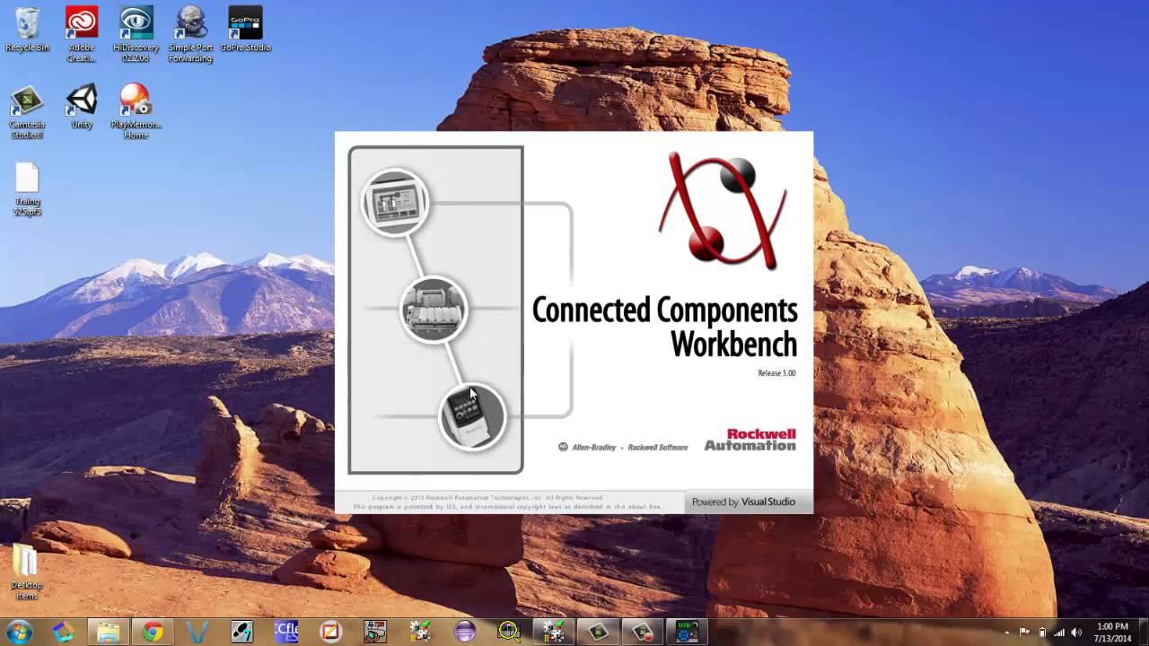 powerflex 525 basic setup for ethernet youtube