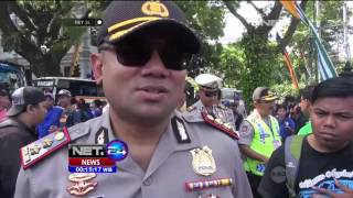 Keberangkatan Ribuan Suporter Aremania Dukung Arema Di Final Bhayangkara Cup - NET24