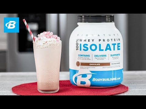 Peppermint Bark Protein Shake Recipe