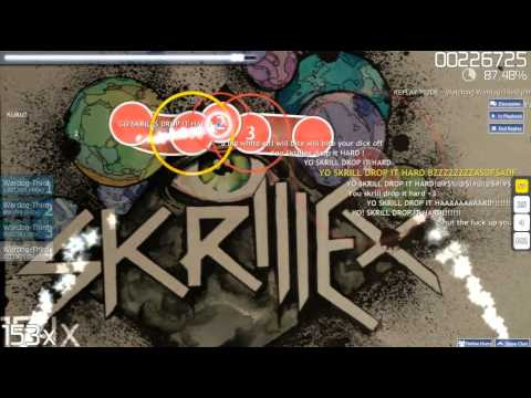 [Osu Gameplay] Skrillex ft. Sirah - Kyoto [S Rank]